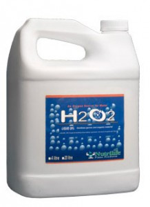 Using H2O2 in your hydroponics garden