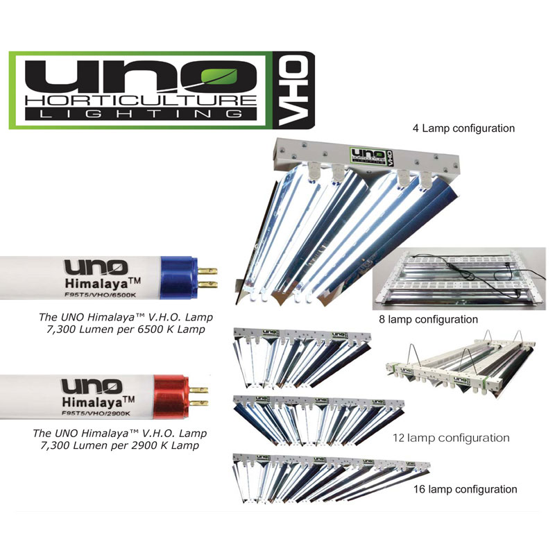 VHO-XHO T5 Lighting System by UNO