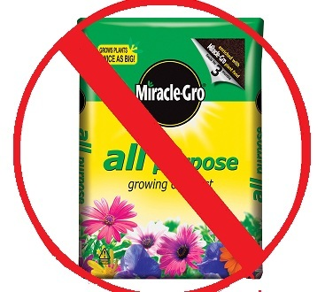 People ask us fairly frequently why we do not carry Miracle-Gro Potting soil or fertilizers. There are MUCH better products on the market that we do carry.
