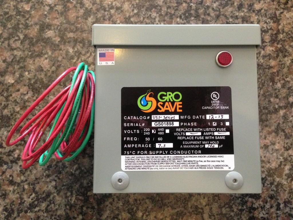 GroSave Energy Controller